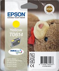 Cartucho de Tinta Amarillo Epson T0614