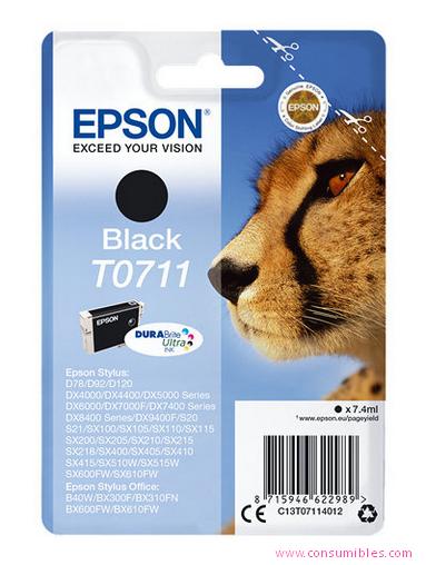 Comprar cartucho de tinta C13T07114012 de Epson online.