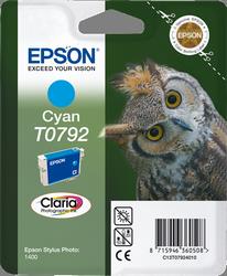 CARTUCHO DE TINTA CIAN EPSON T0792