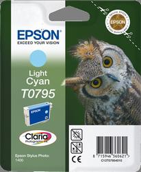 CARTUCHO DE TINTA CIAN CLARO EPSON T0795 para Stylus Photo PX830FWD