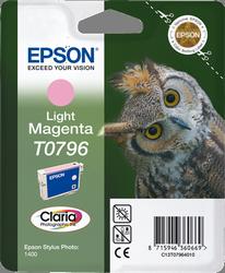 CARTUCHO DE TINTA MAGENTA CLARO EPSON T0796 para Stylus Photo PX830FWD