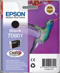 CARTUCHO DE TINTA NEGRO EPSON T0801