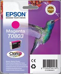 CARTUCHO DE TINTA MAGENTA EPSON T0803