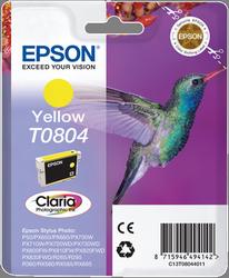CARTUCHO DE TINTA AMARILLO EPSON T0804 para Stylus Photo RX585