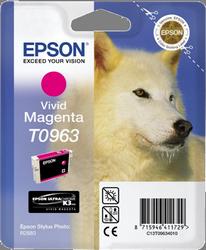 CARTUCHO DE TINTA MAGENTA VIVID EPSON T0963