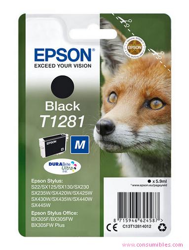 Comprar cartucho de tinta C13T12814012 de Epson online.