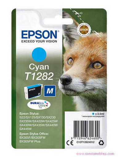 Comprar cartucho de tinta C13T12824012 de Epson online.