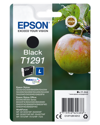 EPSON CARTUCHO INYECCION TINTANEGRO T1291 BLISTER SIN ALARM