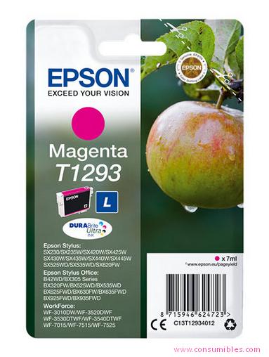 Comprar cartucho de tinta C13T12934012 de Epson online.
