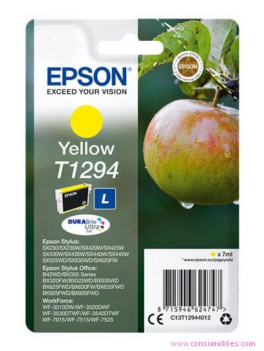 Comprar cartucho de tinta C13T12944012 de Epson online.