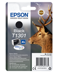 EPSON CARTUCHO INYECCION TINTA NEGRO T1301 25.40ML BLISTER S