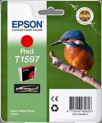 CARTUCHO DE TINTA ROJO 17 ML EPSON T1597