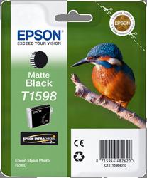CARTUCHO DE TINTA NEGRO MATE 17 ML EPSON T1598