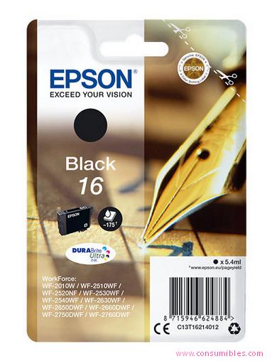 Comprar cartucho de tinta C13T16214012 de Epson online.