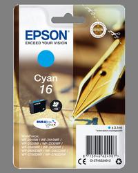 EPSON CARTUCHO INYECCION TINTA CIAN 165 PGINAS BLISTER SIN