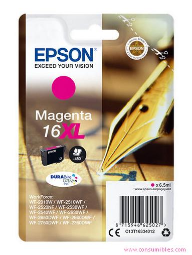 Comprar cartucho de tinta C13T16334012 de Epson online.