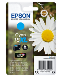 EPSON CARTUCHO INYECCION TINTA CIAN 18XL CLARIA HOME PACK 1