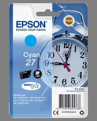 EPSON CARTUCHO DE TINTA CíAN C13T27024012 T2702 300 PÁGINAS 3.6ML