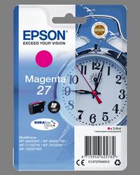 EPSON CARTUCHO DE TINTA MAGENTA C13T27034012 T2703 300 PÁGINAS 3.6ML