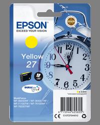 EPSON CARTUCHO DE TINTA AMARILLO C13T27044012 T2704 300 PÁGINAS 3.6ML