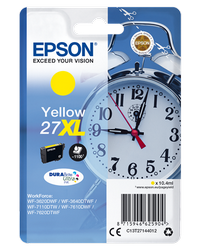 EPSON CARTUCHO DE TINTA AMARILLO 27XL 109ML WF3620/3640/7110
