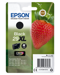 EPSON CARTUCHO DE TINTA NEGRO C13T29914012 T2991 470 PÁGINAS XL
