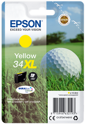 EPSON CARTUCHO AMARILLO 34XL