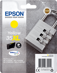 EPSON AMARILLO XL