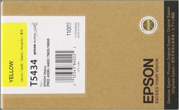 EPSON CARTUCHO INYECCION TINTA AMARILLO 110ML STYLUS PRO 9600 7600 4000 4400
