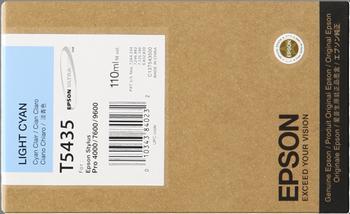 CARTUCHO DE TINTA CIAN CLARO 110 ML EPSON T5435