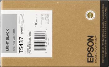CARTUCHO DE TINTA NEGRO CLARO 110 ML EPSON T5437