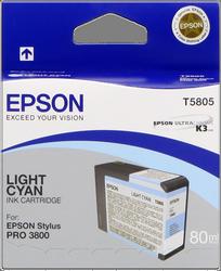 CARTUCHO DE TINTA CIAN CLARO 80 ML EPSON T5805 para Stylus Pro 3880