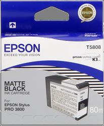 CARTUCHO DE TINTA NEGRO MATE 80 ML EPSON T5808