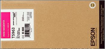 CARTUCHO DE TINTA MAGENTA VIVO 350 ML EPSON T5963