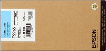 CARTUCHO DE TINTA EPSON T5965 CIAN CLARO, 350ML