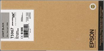 CARTUCHO DE TINTA GRIS 350 ML EPSON T5967