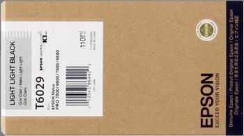 CARTUCHO DE TINTA NEGRO CLARO CLARO 110 ML EPSON T6029
