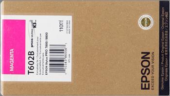 CARTUCHO DE TINTA MAGENTA 110 ML EPSON T602B