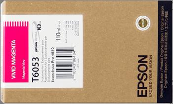CARTUCHO DE TINTA MAGENTA 110 ML EPSON T6053