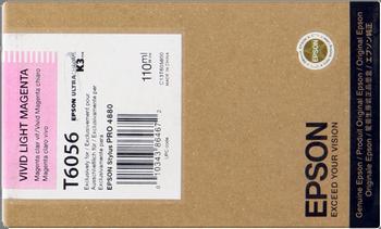 CARTUCHO DE TINTA MAGENTA CLARO 110 ML EPSON T6056
