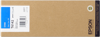 CARTUCHO DE TINTA CIAN 220 ML EPSON T6142