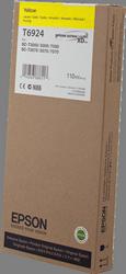Cartucho de Tinta Amarillo 110 ml Epson T6924