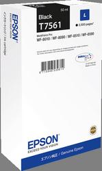 CARTUCHO DE TINTA NEGRO 50 ML EPSON T7561