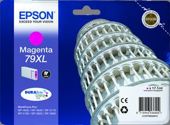 Cartucho de Tinta Magenta 17.1 ml 79XL Alta Capacidad Epson T7903