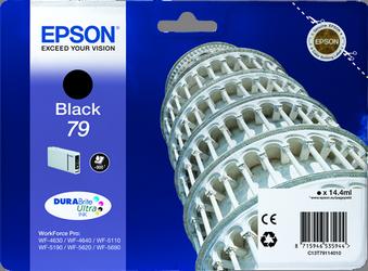 CARTUCHO DE TINTA NEGRO 14.4 ML 79 EPSON T7911