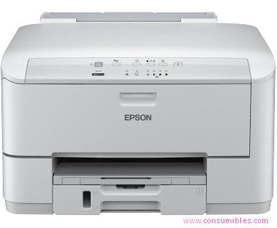 Inyección de tinta EPSON IMPRESORA DE INYECCIÓN WORKFORCE PRO WP-M4015 DN ( C11CC77301 )