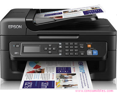 EPSON IMPRESORA MULTIFUNCIÓN INYECCION WORKFORCE WF-2630WF COLOR 34PPM 5760X1440DPI A4 C11CE36402