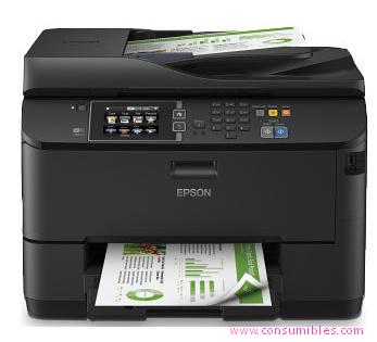 Inyección de tinta EPSON IMPRESORA MULTIFUNCIÓN INYECCION WF-4630DWF COLOR 34 PPM ESCANER Y FAX 30.000 PÁGINAS C11CD10301