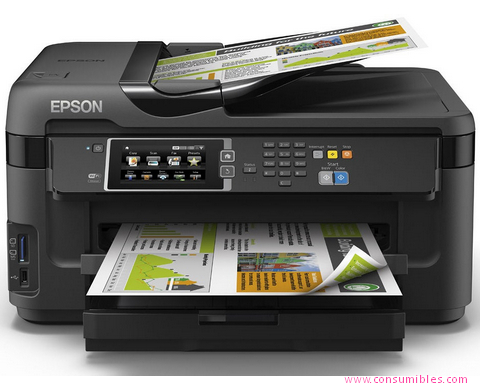 EPSON IMPRESORA MULTIFUNCIÓN INYECCION WORKFORCE WF7610DWF C11CC98302