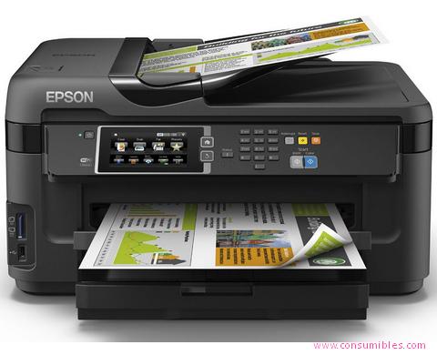 EPSON IMPRESORA MULTIFUNCIÓN INYECCION WORKFORCE WF7610DWF C11CC98302
